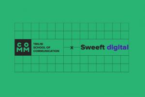 tbilisi school of communication x sweeft digital